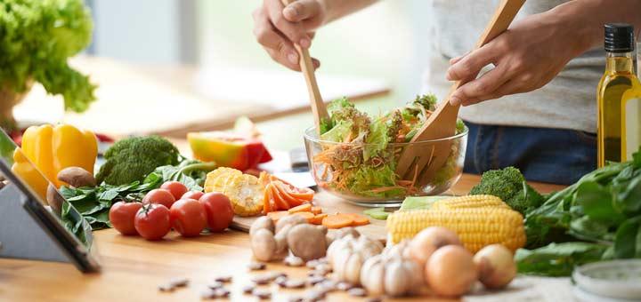 making-salad
