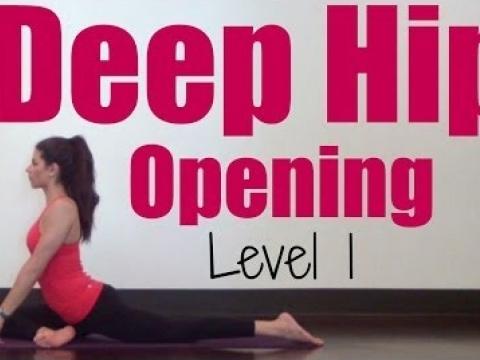 20 Minute Deep Hip Opening Yoga