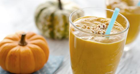 Halloween Pumpkin Spice Smoothie