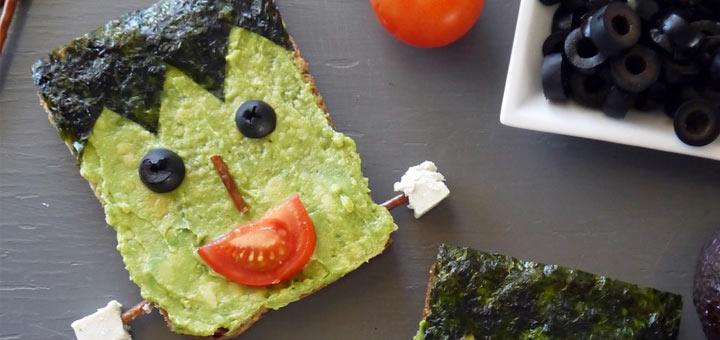 frankenstein-toast