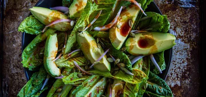 romain-avocado-salad