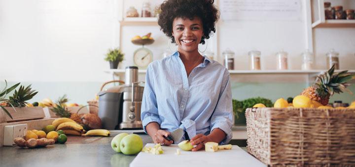 black-woman-fresh-produce