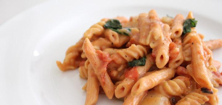 lentil-pasta