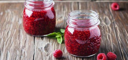 Raw Vegan Raspberry Jam