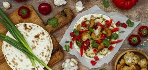 Sheet Pan Cauliflower Fajitas