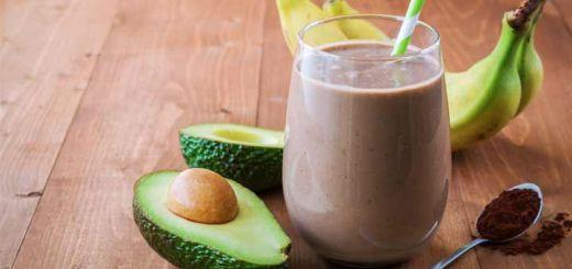 chocolate-avocado-smoothie