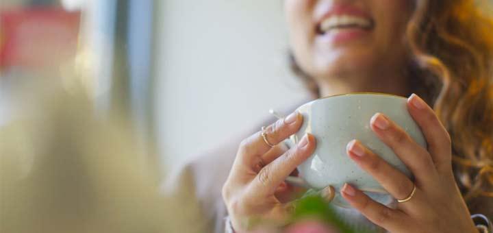 drinking-green-tea