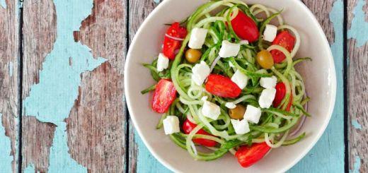 Mediterranean Zucchini Pasta