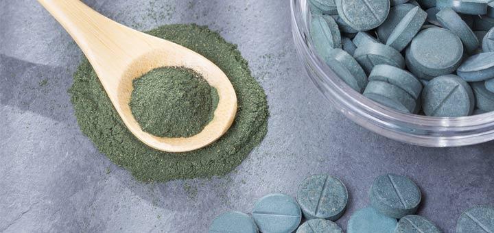 chlorella-powder-tablets